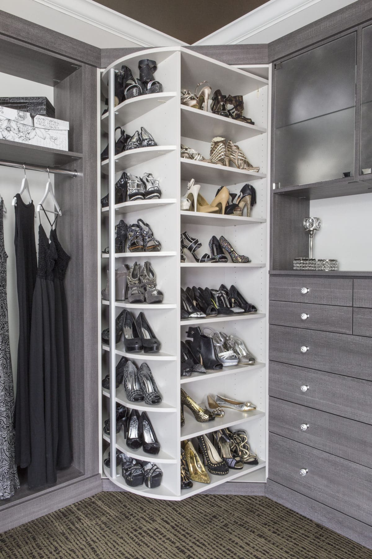 360 closet organizer phoenix az closet spinner. Black Bedroom Furniture Sets. Home Design Ideas