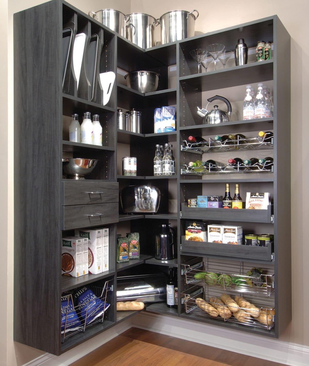 Kitchen Pantry Storage Solutions: Pantry Cabinets Phoenix AZ