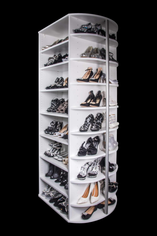 shoe spinner closet organizer