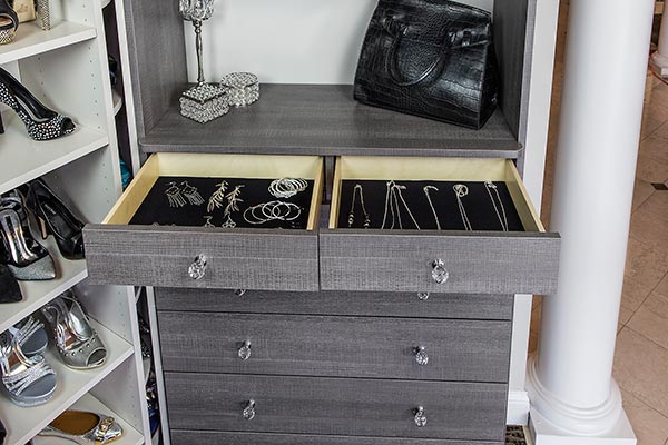 Jewelry Drawer Flat Velvet Liner Austin Morgan Closets