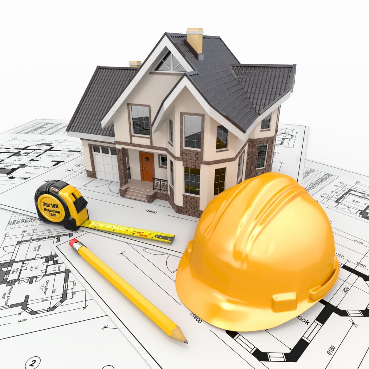 Homebuilders blue prints