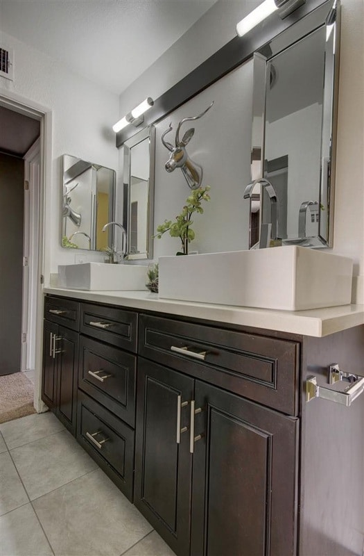Bathroom Vanities Utah bathroom cabinets paradise valley az | austin-morgan closets