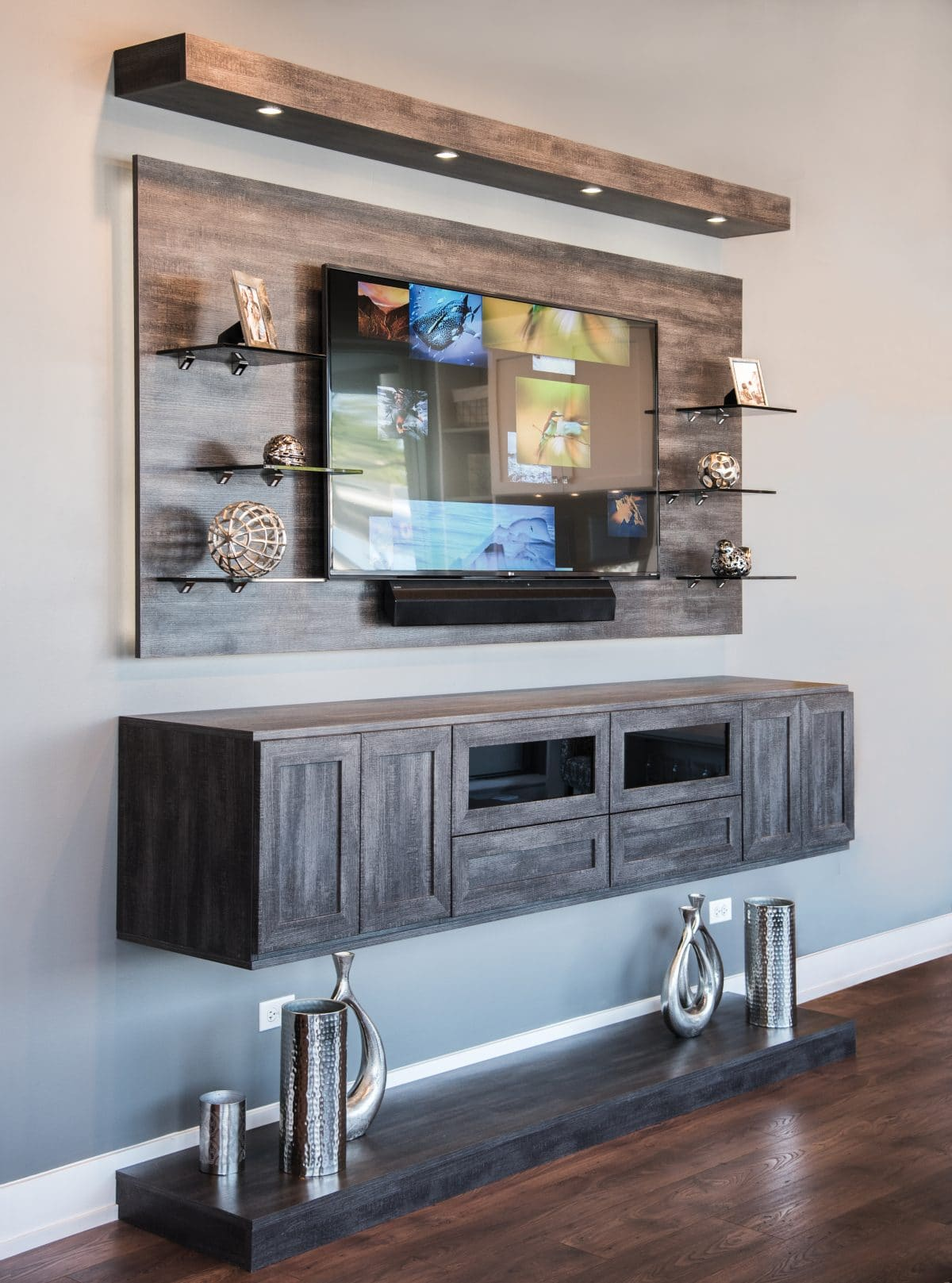 Custom Entertainment Center Phoenix AZ