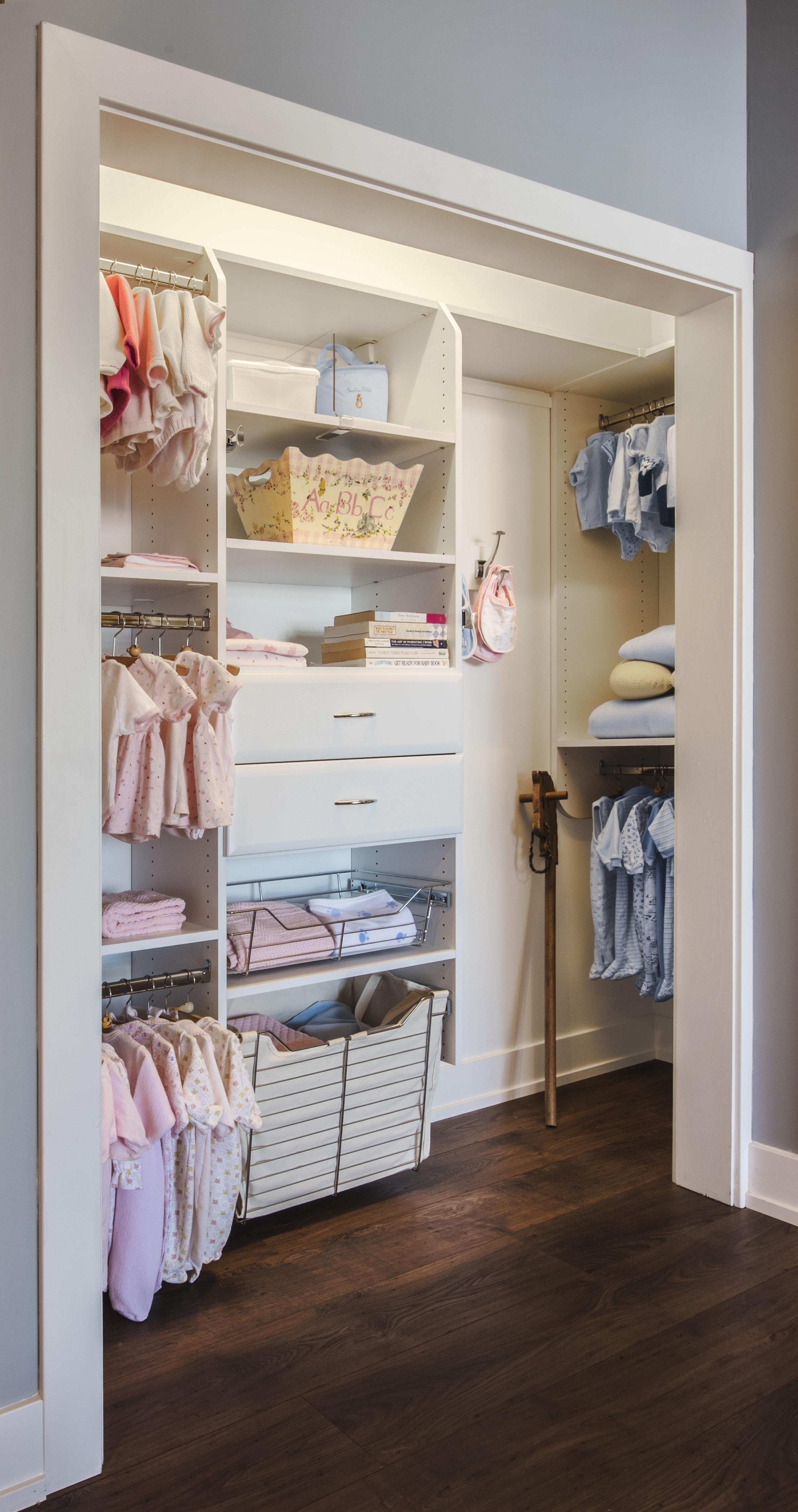 reach in closet design. CHILDREN\u0027S REACH IN CLOSET DESIGNED TO GROW WITH CHILD Reach In Closet Design