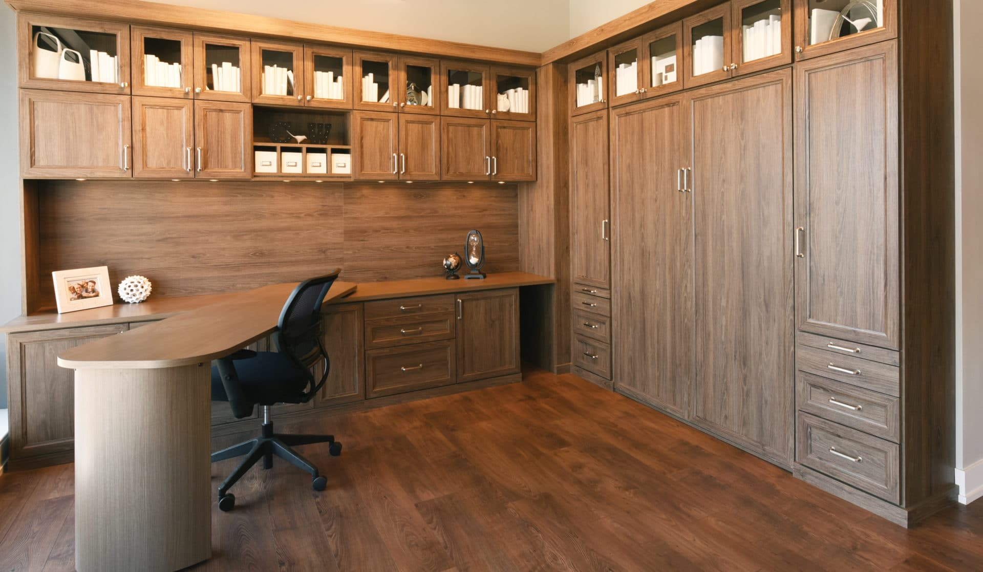 Home Office With Murphy Bed Austin