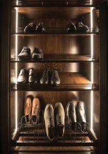 Vertical Led Strip Lighting Austin Morgan Closets