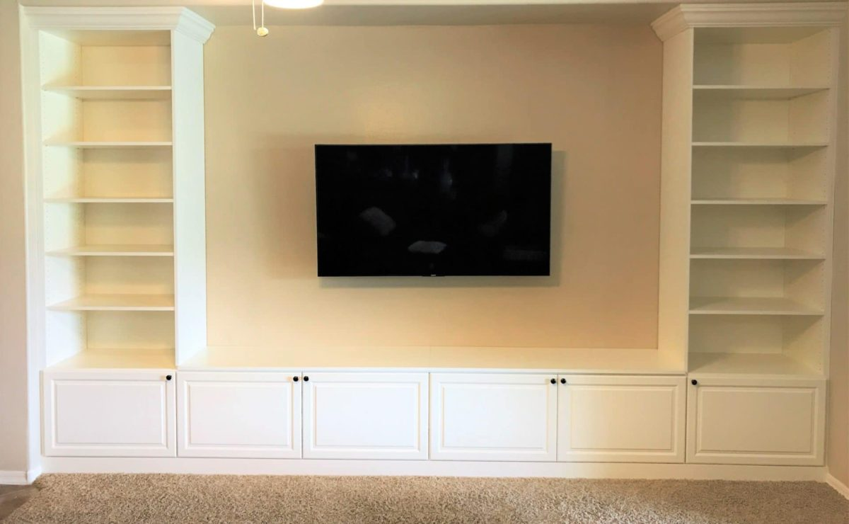 Custom Entertainment Centers Arizona | Floating Entertainment Centers