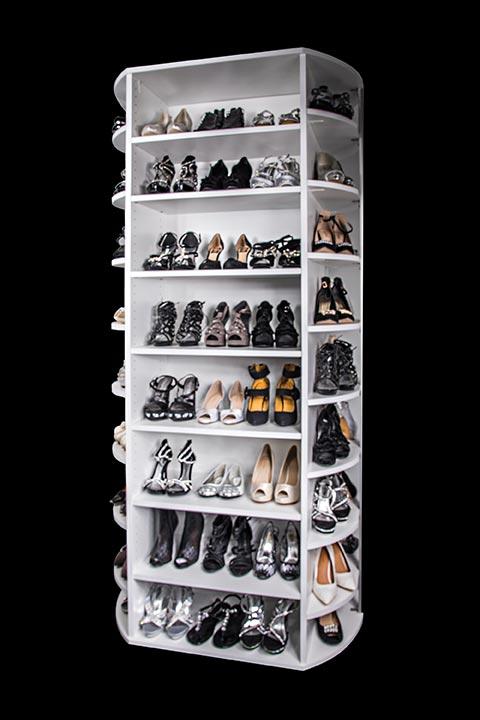 360 Shoe Spinner Phoenix Az Closet Organizer Shoe