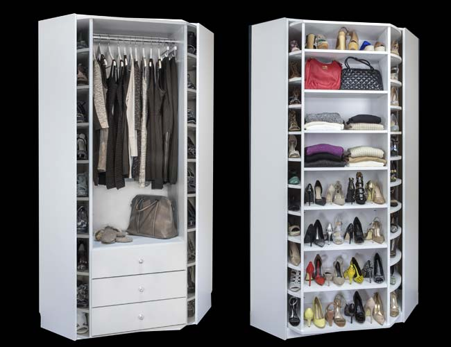 Superieur The 360 Valet Closet Spinner Is Completely Customizable